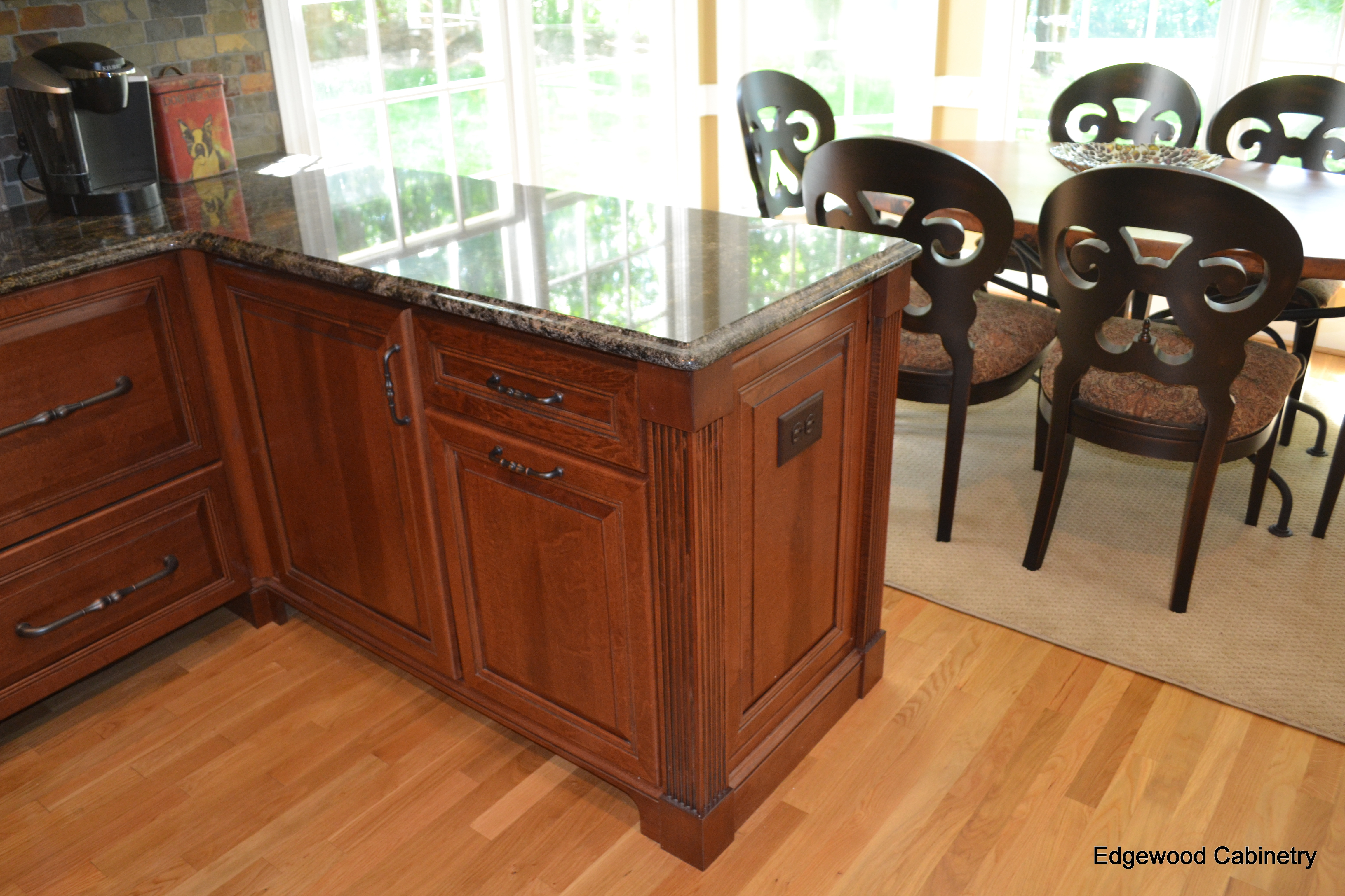 Cabinets or flooring first edgewood cabinetry for Flooring or cabinets first