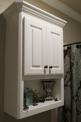 View Larger Image Over The Toilet Edgewood Cabinetry