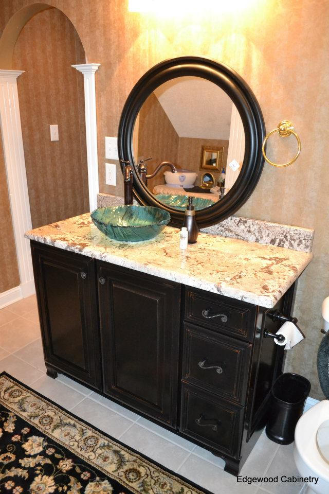View Larger Image Bathroom Vanity Edgewood Cabinetry