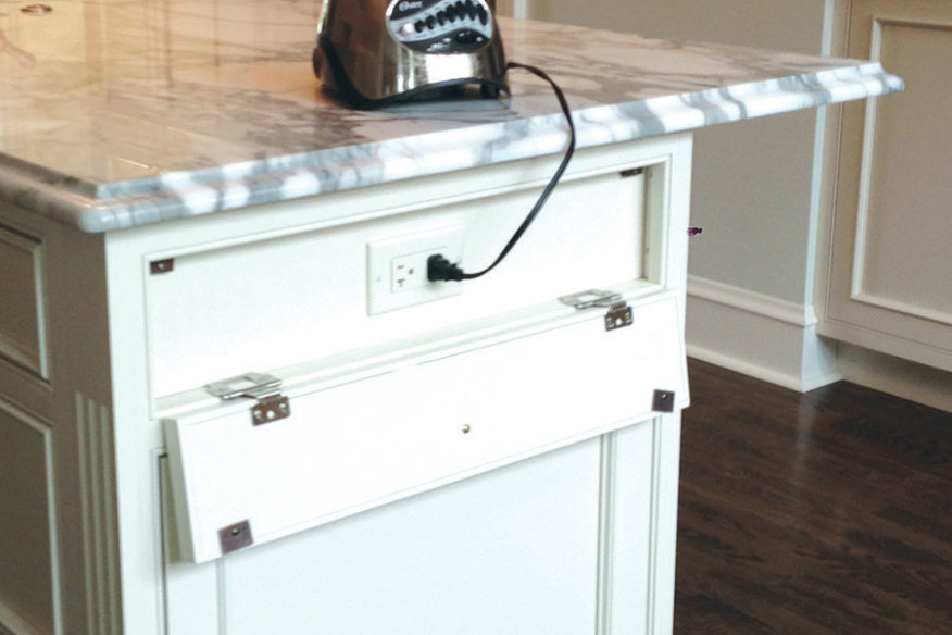 Superbe View Larger Image Hidden Outlets Edgewood Cabinetry
