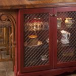 wire mesh cabinet door inserts-edgewood cabinetry