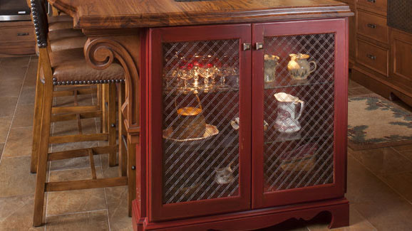 Great View Larger Image Wire Mesh Cabinet Door Inserts Edgewood Cabinetry