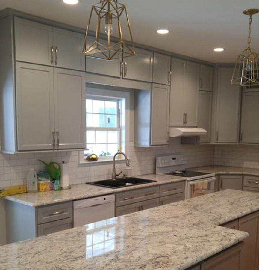 gray vs white shaker cabinets-edgewood custom cabinetry-clayton nc