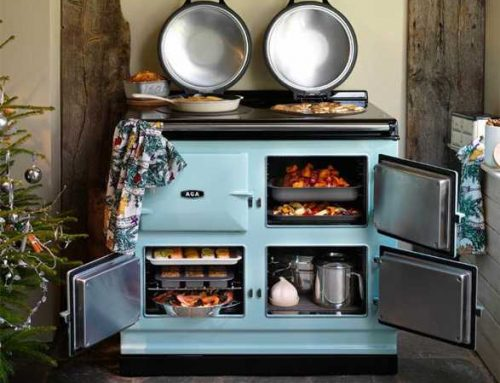 Want iconic luxury? Check out the AGA cast iron range.