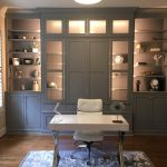 home office cabinets-edgewood custom cabinetry